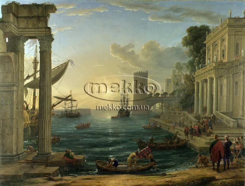 Картина Морський порт, Клод Верне